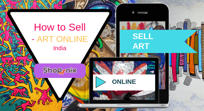 sell paintings online India