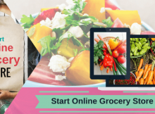 START AN ONLINE GROCERY STORE