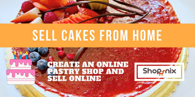 Sell Cakes online : How to start online cake business in India?