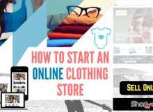 How to start an online clothe store
