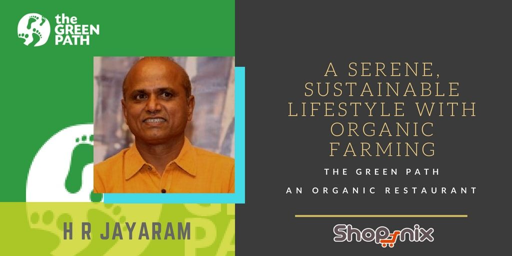 Organic restaurant in Bangalore