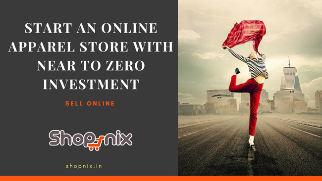 Start online store with no money