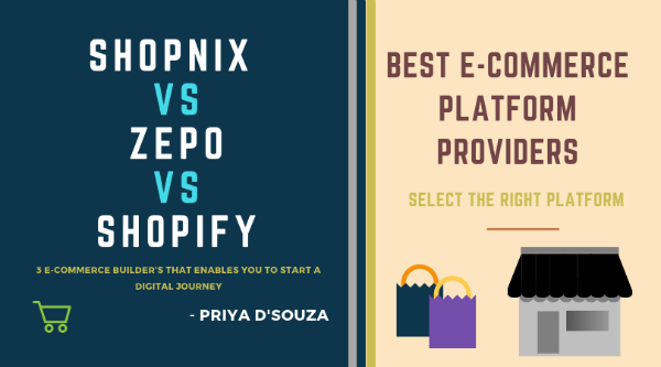 Shopify Vs Wix Vs Shopnix – eCommerce Platform India