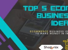 Top eCom business ideas to start a business in India