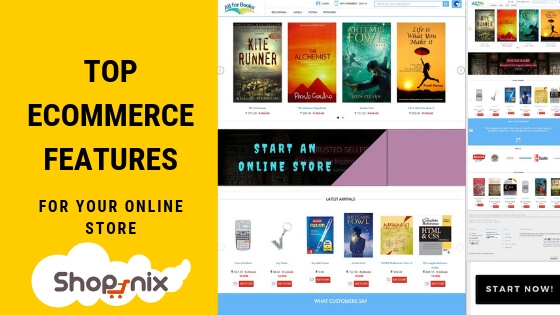 Top 10 Features Required for An Ecommerce Store