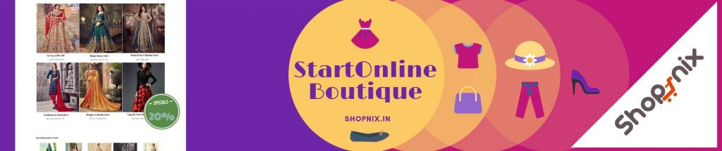 Start an Online Boutique in India